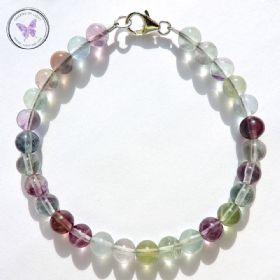 Classical Fluorite Healing Bracelet